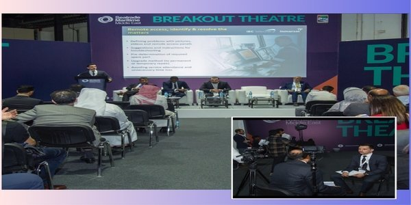 MERCAN GROUP WAS INVITED TO SEATRADE MARITIME MIDDLE EAST 2018 AS A PANELLIST ON